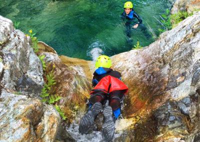 Kid canyon rando aqua