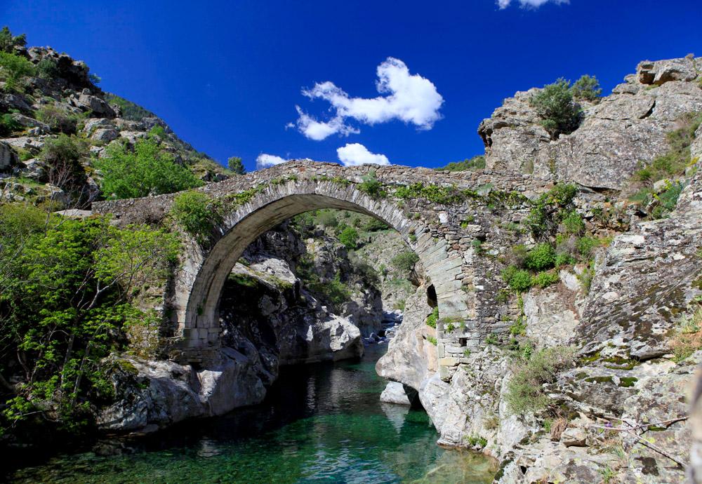 pont asco riviere rando corse